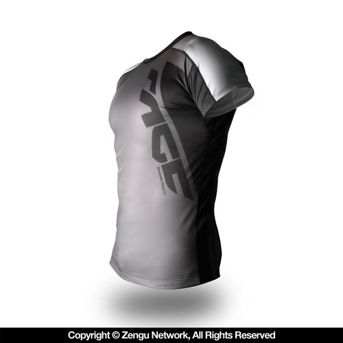 "PunchTown ""Rage"" Rash Guard - Short Sleeve"
