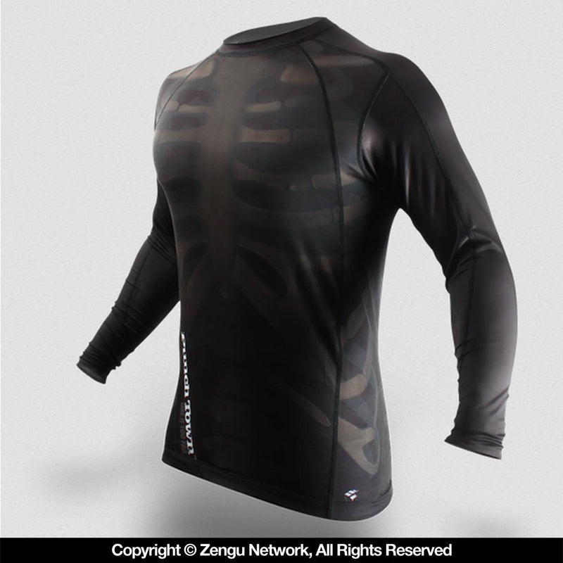 "PunchTown ""Fracture"" Long Sleeve Rash Guard"