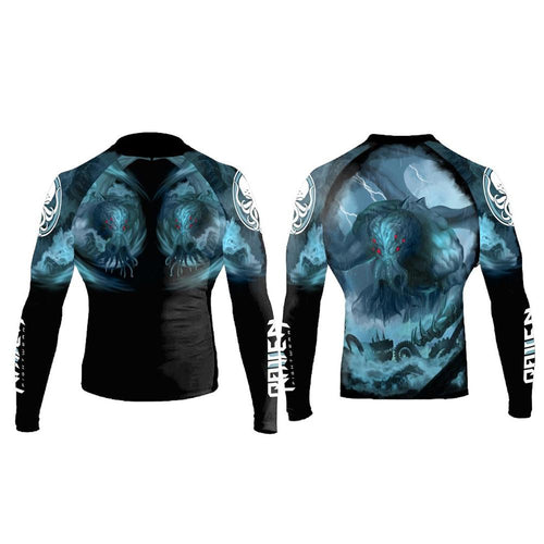 "Raven ""Cthulu"" Women's Rash Guard"
