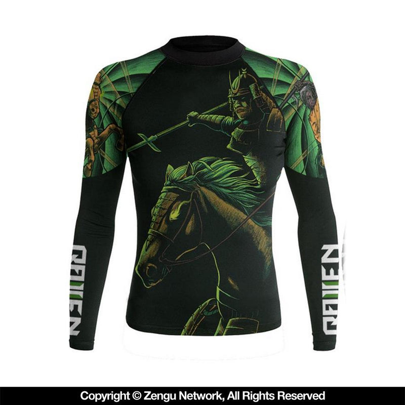 "Raven ""Four Samurai - Death"" Women's Rash guard"