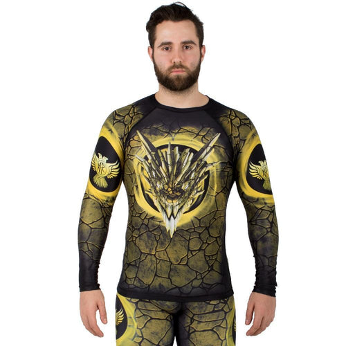 "Raven ""Earth Dragon"" Rash Guard"