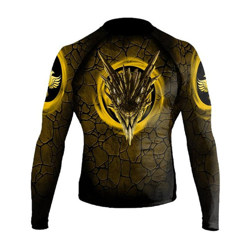 "Raven ""Earth Dragon"" Women's Rash Guard"