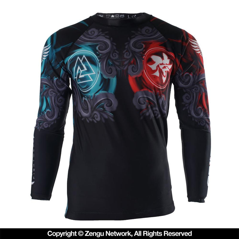"Raven ""East Meets West"" Grappling Rash Guard"