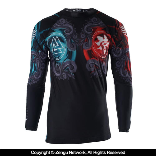 Raven East Meets West Women's Grappling Rash Guard