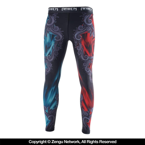 "Raven ""East Meets West"" Women's Spats"