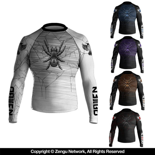 "Raven ""Funnel Web"" Ranked Rash Guard"
