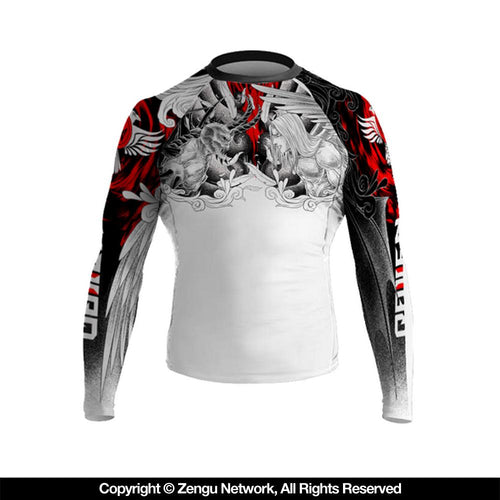 "Raven ""Heaven and Hell"" Rash Guard"
