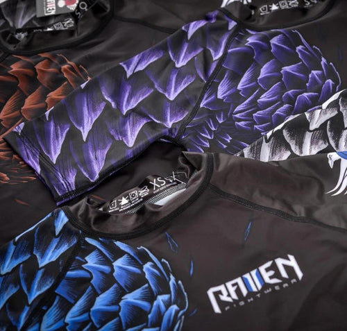 "Raven ""Pangolin"" Ranked Rash Guard"