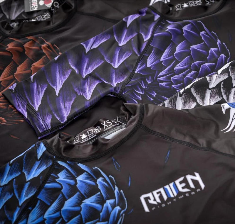 "Raven ""Pangolin"" Ranked Women's Rash Guard"