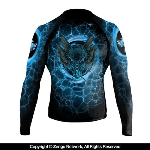 "Raven ""Water Dragon"" Rash Guard"
