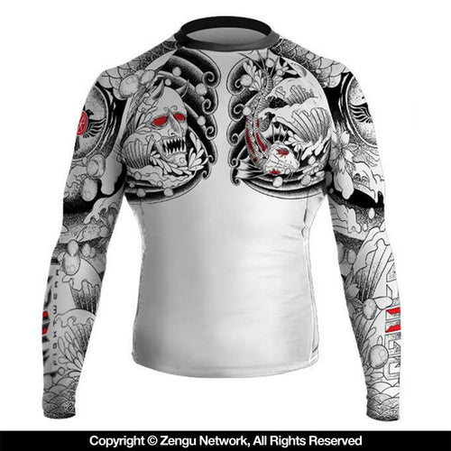 "Raven ""Irezumi"" Rash Guard"