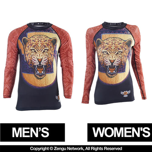 "Raven ""Jaguar"" Rash Guard"