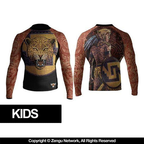 "Raven ""Jaguar"" Kids Rash Guard"