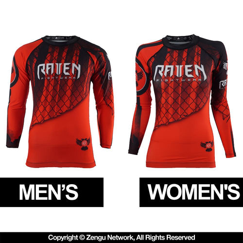 "Raven ""Red"" Rash Guard"