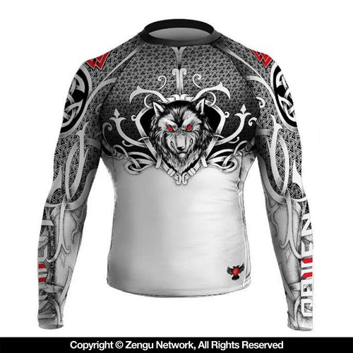 "Raven ""Viking"" Rash Guard"