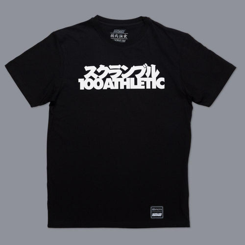 "Scramble X ""100Athletic"" Tee – Black"