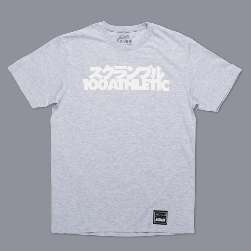 "Scramble X ""100Athletic"" Tee – Grey"