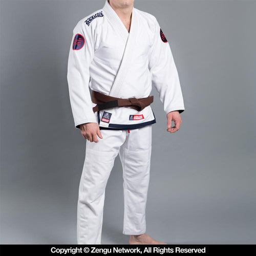 "Scramble ""Athlete 3.0"" BJJ Gi - White"
