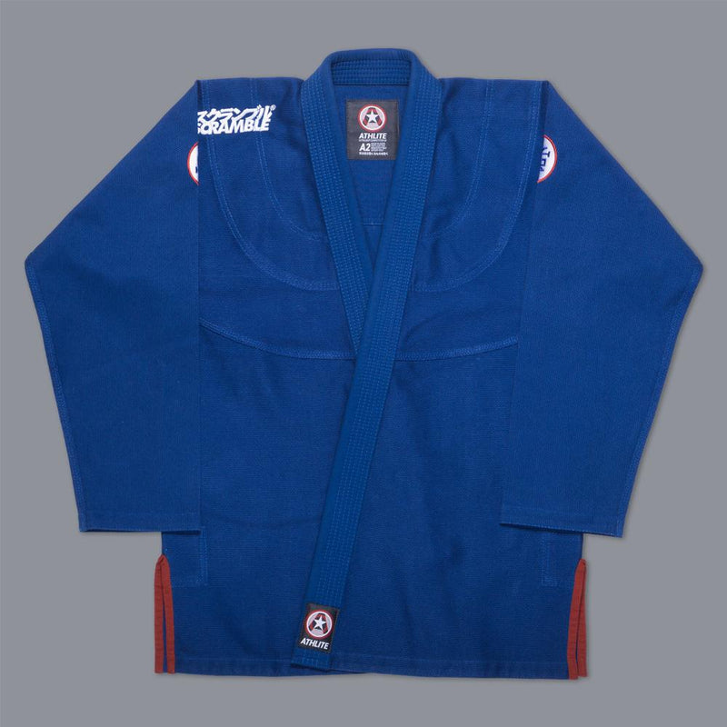"Scramble ""Athlite"" BJJ Gi - Blue"