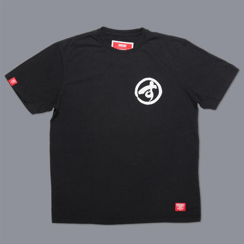 "Scramble ""Brush Logo"" Tee - Black"