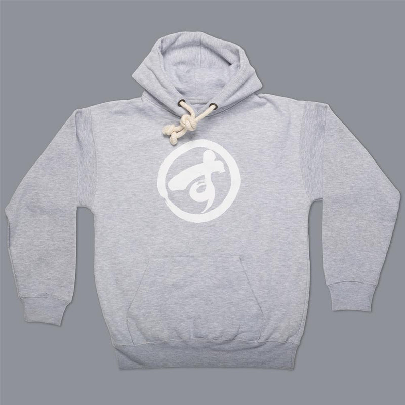 "Scramble ""Brush Logo"" Hoodie - Grey"