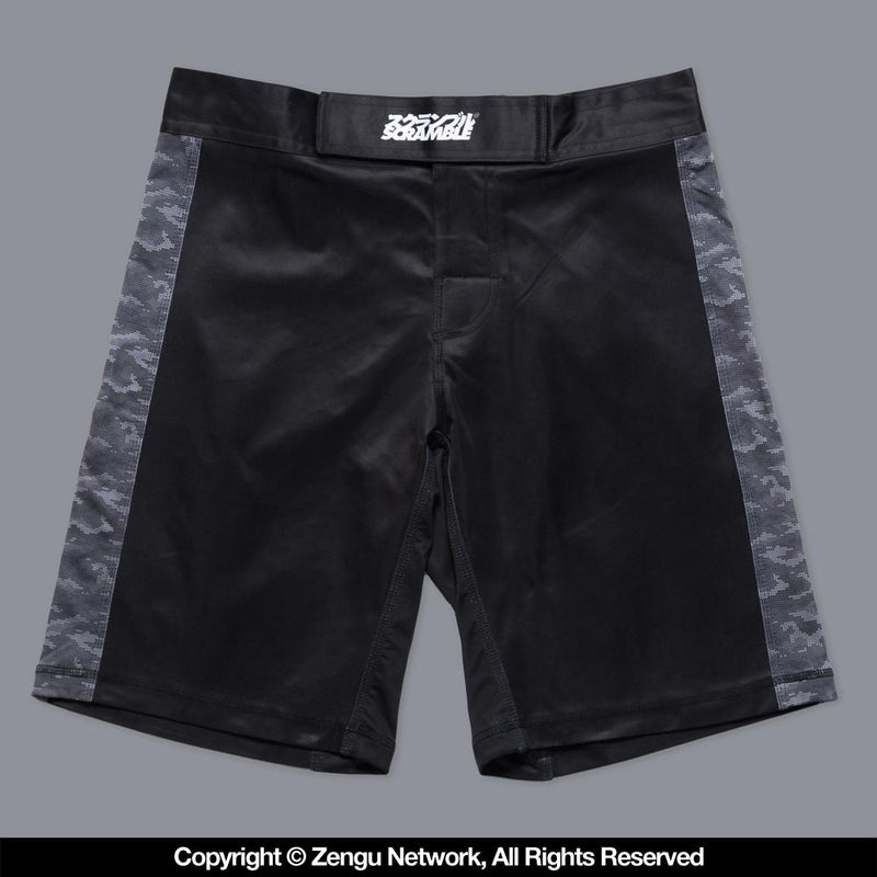 "Scramble ""Kuro"" Camo Shorts"