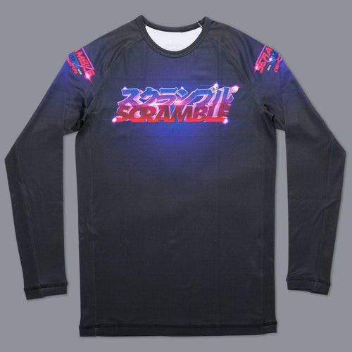 "Scramble ""Lazertronic"" Grappling Rash Guard"
