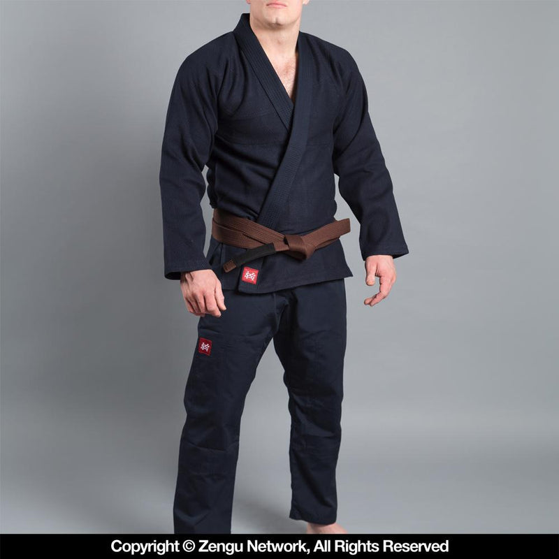 "Scramble ""Standard Issue"" Semi Custom BJJ Gi - Navy"