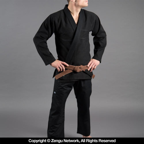 "Scramble ""Standard Issue"" Black BJJ Gi"