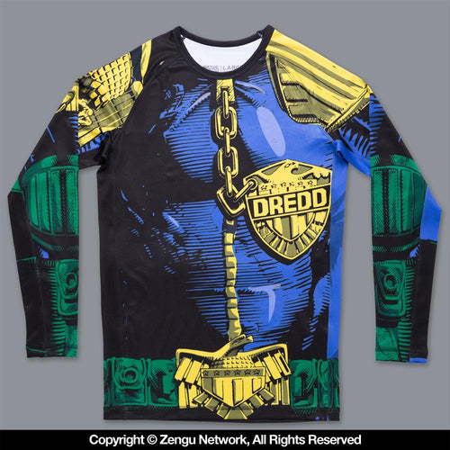 "Scramble Judge Dredd ""The Law"" Rash Guard"