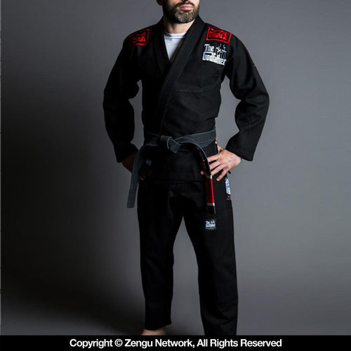 "Scramble ""The Godfather"" Black BJJ Gi"
