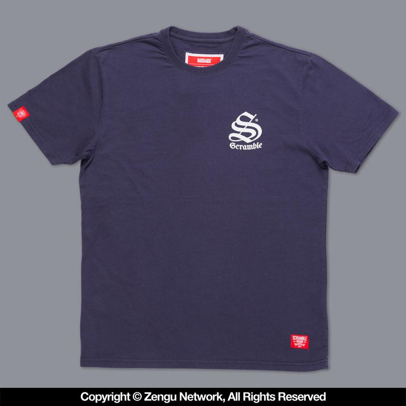 "Scramble ""Inner City"" T-shirt - Navy"