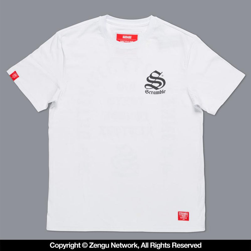 "Scramble ""Inner City"" T-shirt - White"