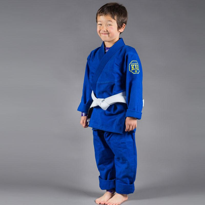 Scramble Children's Blue Jiu Jitsu Gi