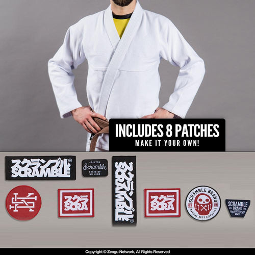 Scramble Semi-Custom BJJ Gi - Standard Issue