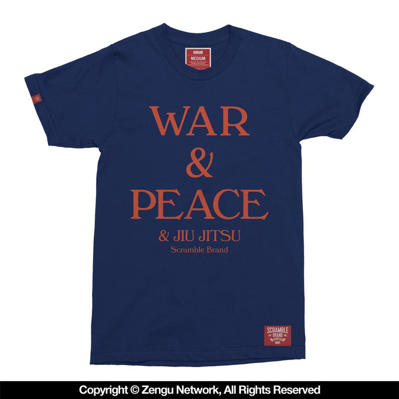 "Scramble ""War & Peace"" Shirt"