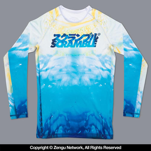 "Scramble ""Pacifica"" Rash Guard"