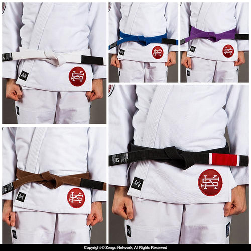 Scramble BJJ Rank Belt V2