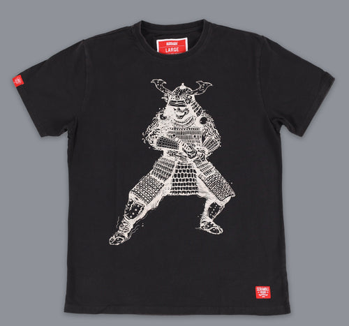 "Scramble ""Samurai"" T-Shirt - Black"