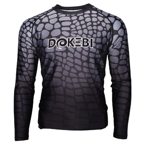 "Dokebi ""Steel Jungle"" Rash Guard"
