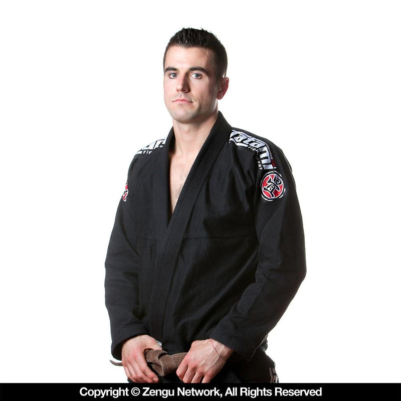 Tatami Nova Black Jiu Jitsu Gi with Free White Belt