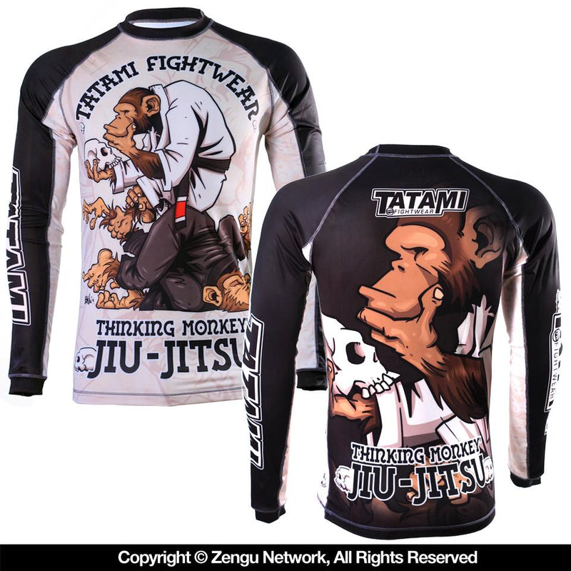 Tatami Thinker Rash Guard