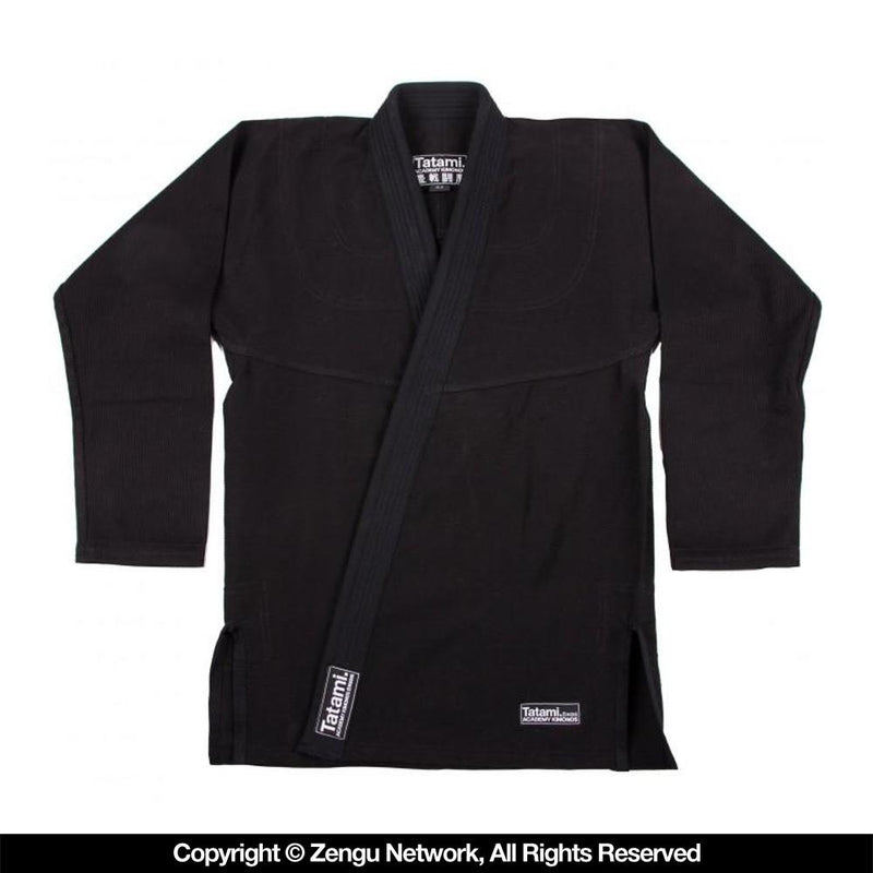 "Tatami ""Academy Fundamental"" BJJ Gi - Black"