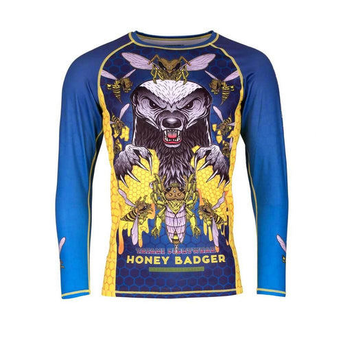 "Tatami ""Honey Badger V5"" Rash Guard"
