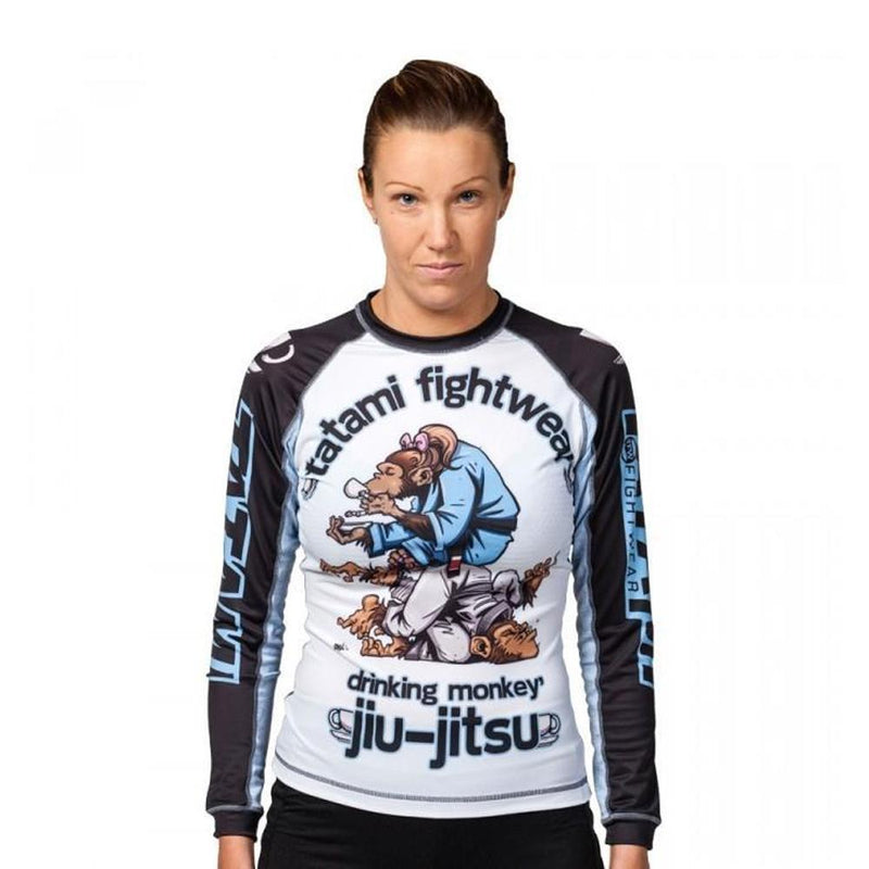 Tatami Drinker Monkey Women's Rash Guard