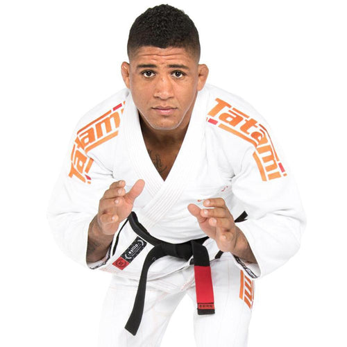 "Tatami ""Estilo 6.0"" BJJ Gi - White/Orange"
