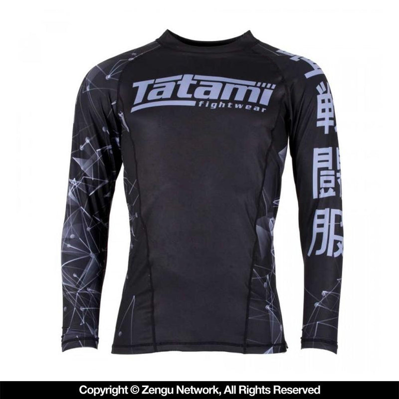 "Tatami ""Fractal"" Grappling Rash guard"
