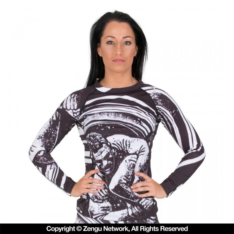 "Tatami ""Grapplers Collective - Kimura"" Women's Rash Guard"