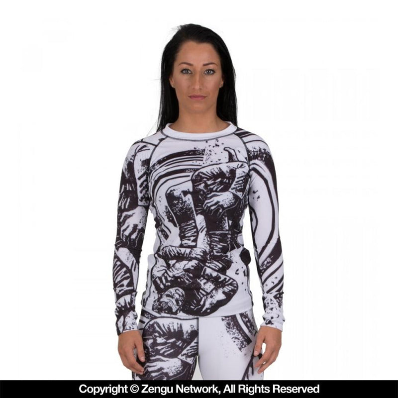 "Tatami ""Grapplers Collective - Triangle"" Women's Rash Guard"