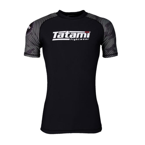 "Tatami ""Renegade"" Short Sleeve Rash Guard - Green Camo"